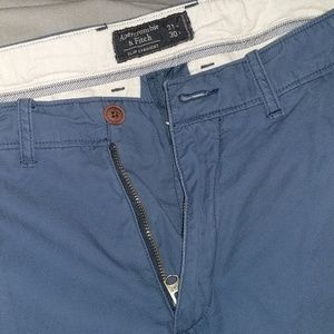 Abercrombie & Fitch Pants - Abercrombie and Fit blue khaki 31x30